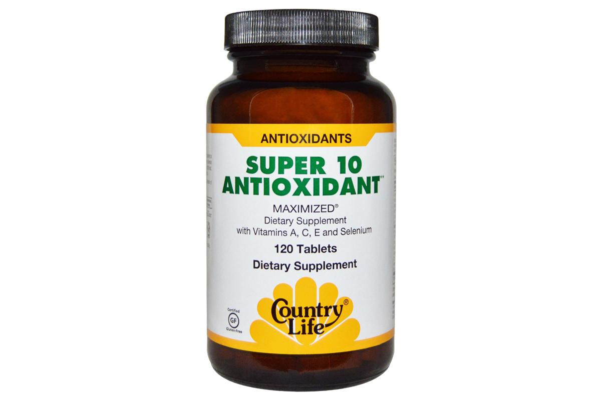 Комплекс Super 10 Antioxidant от Country Life