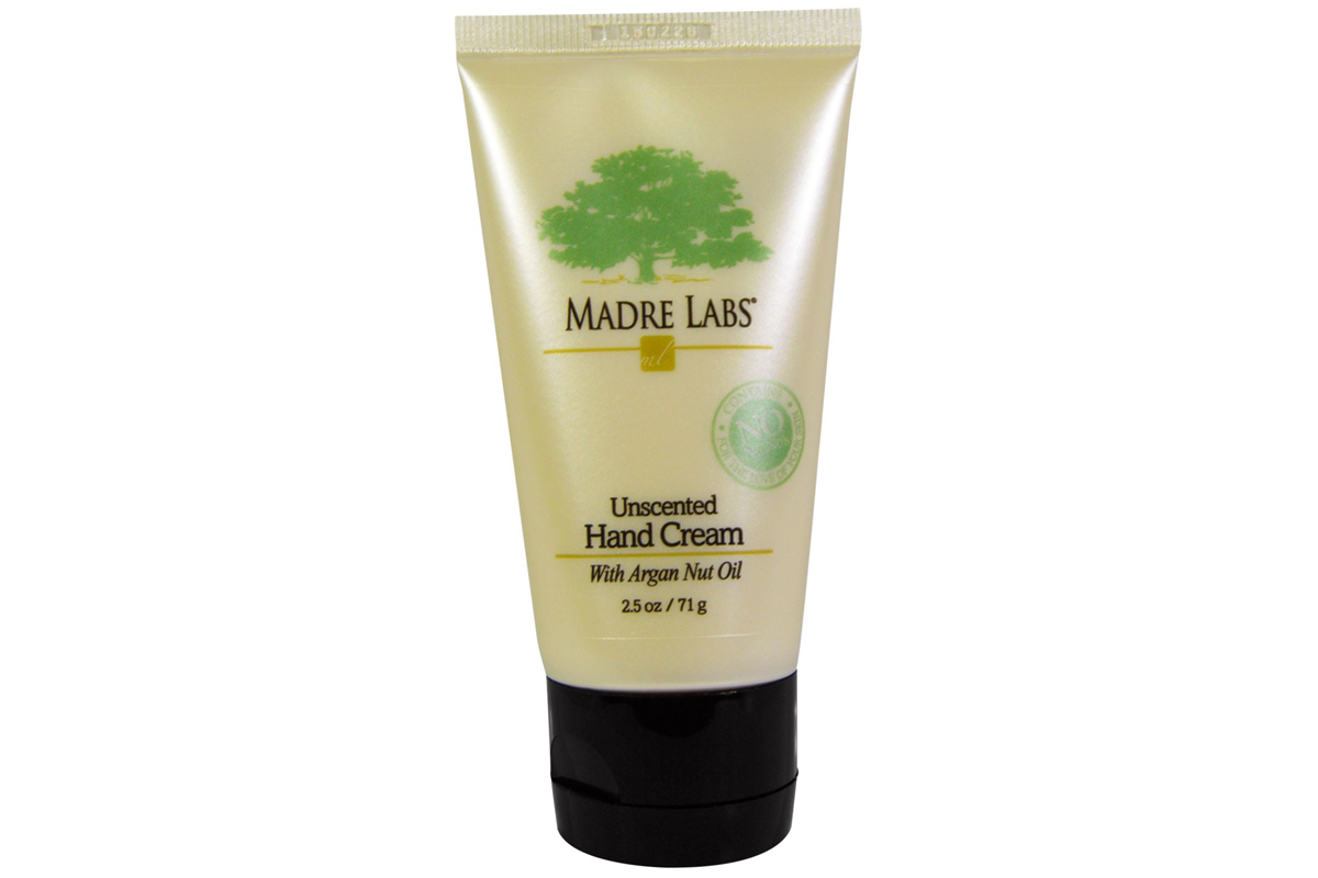 Крем для рук, с маслом орехов аргании, без запаха от Madre Labs