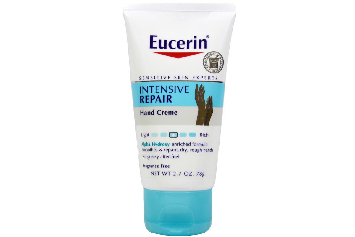Экстра-обогащенный крем для рук, интенсивное восстановление, без запаха от Eucerin