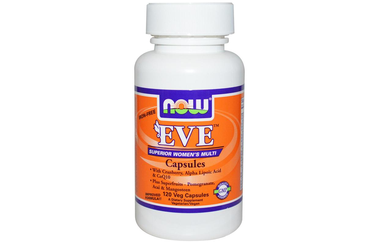 Мультивитамины для женщин в капсулах от Now Foods