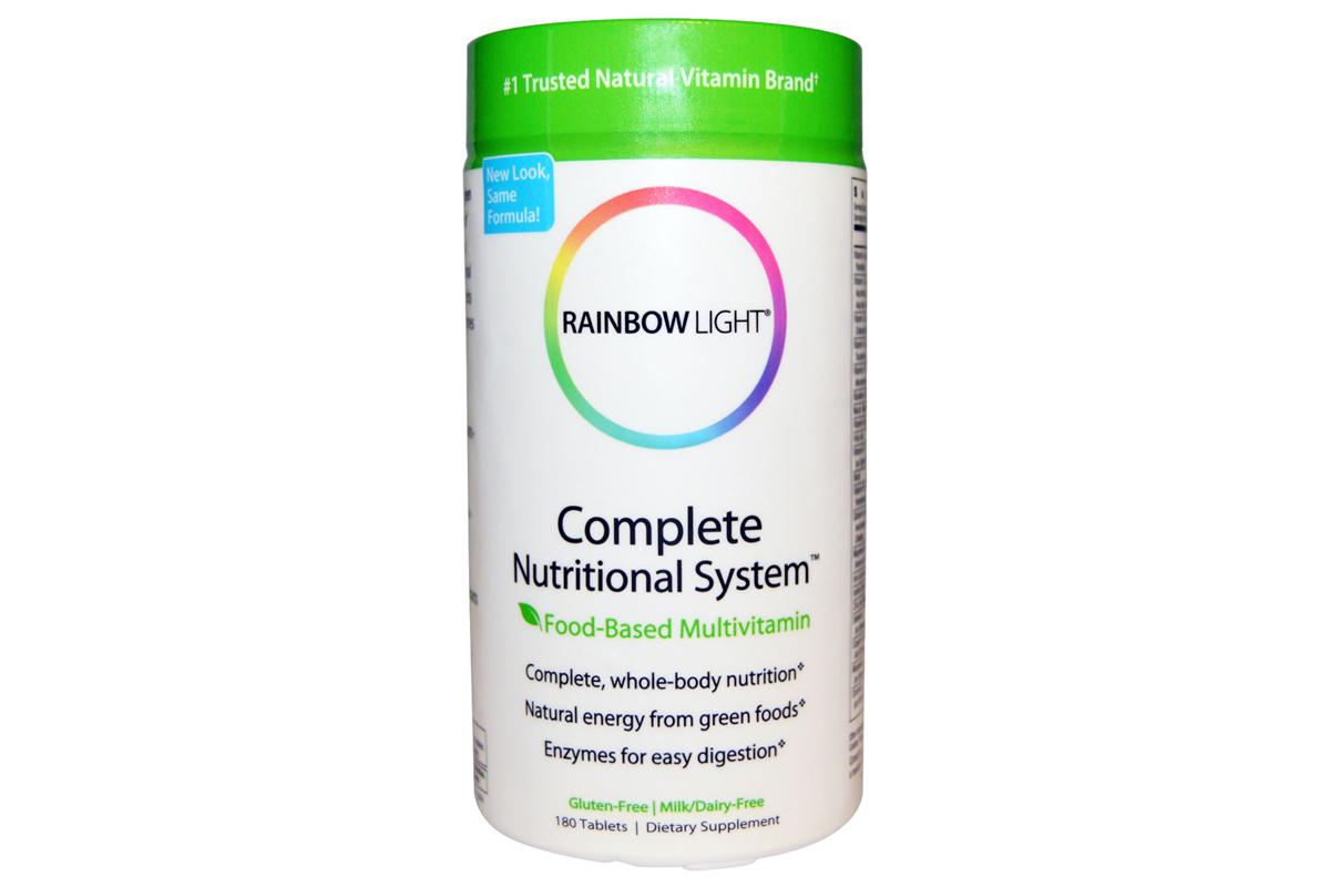 Комплекс пищевых мультивитаминов (Complete Nutritional System) от Rainbow Light