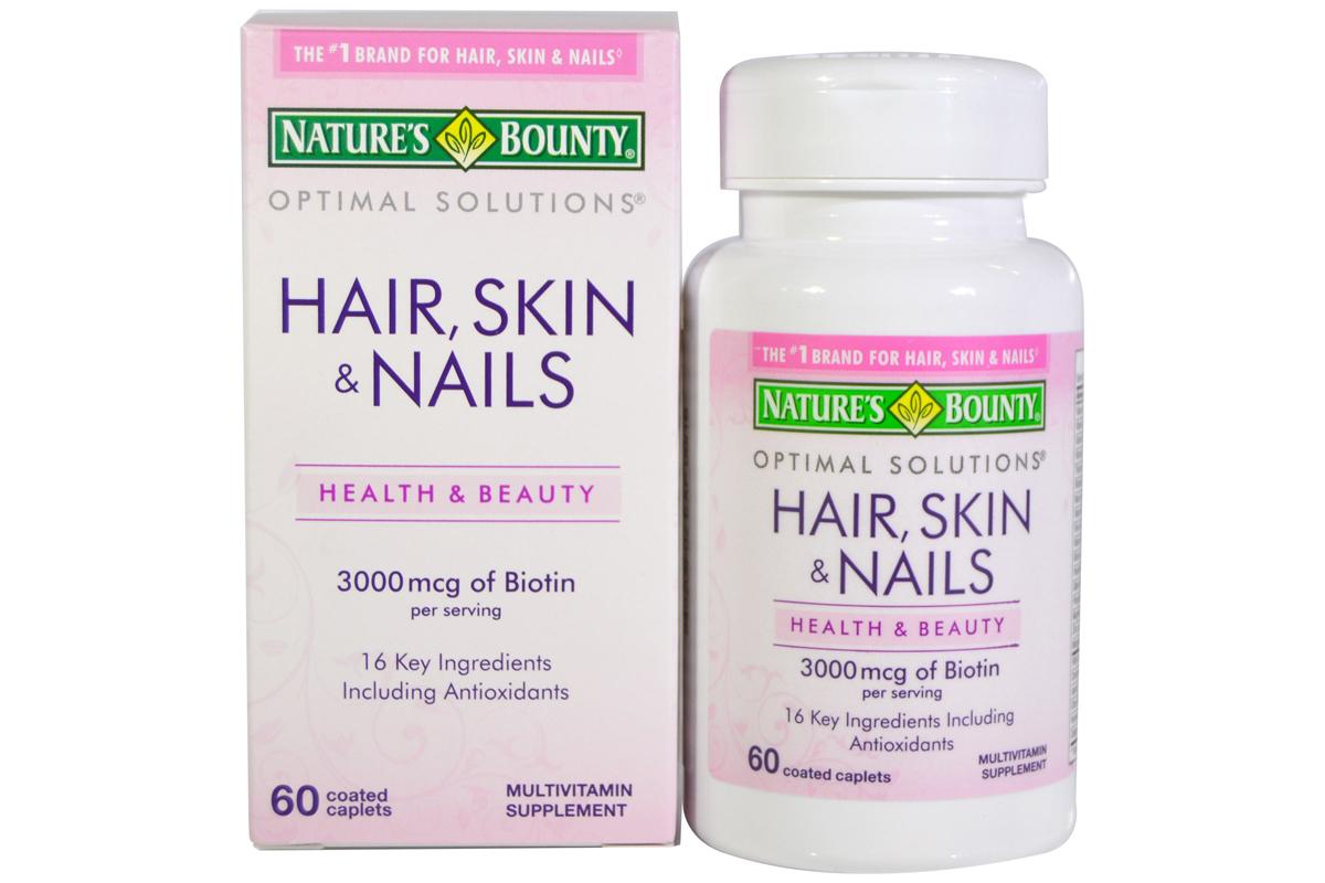 Комплекс для волос, кожи и ногтей от Nature's Bounty