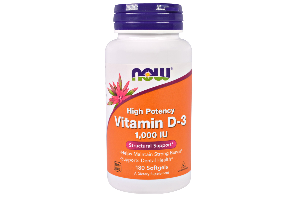 Комплекс Vitamin D-3, High Potency от Now Foods
