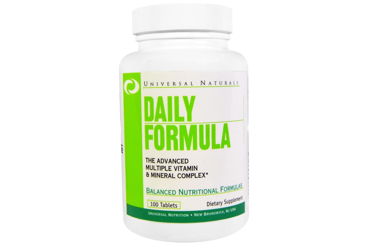 Комплекс мультивитаминов и минералов Daily Formula от Universal Nutrition