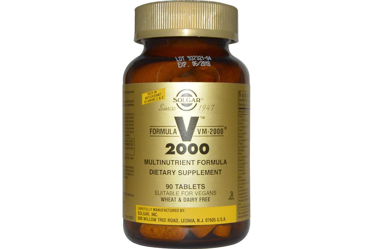 Витаминный комплекс при похудении