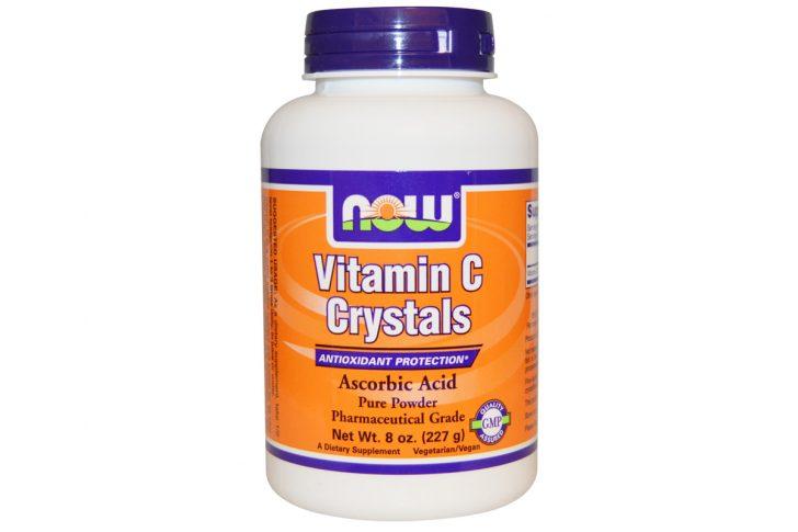 Витамин C в кристаллах (227 г) от Now Foods