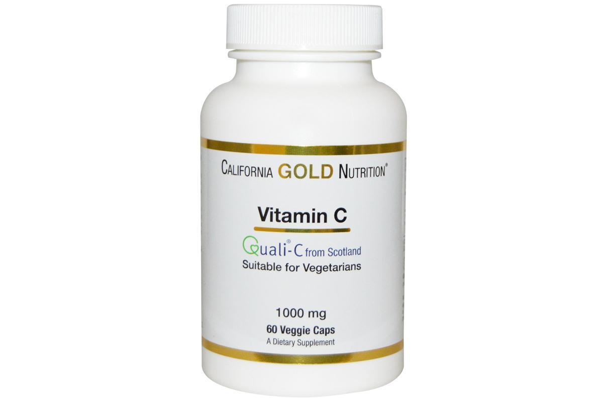 Витамин C, Quali-C в растительных капсулах от California Gold Nutrition