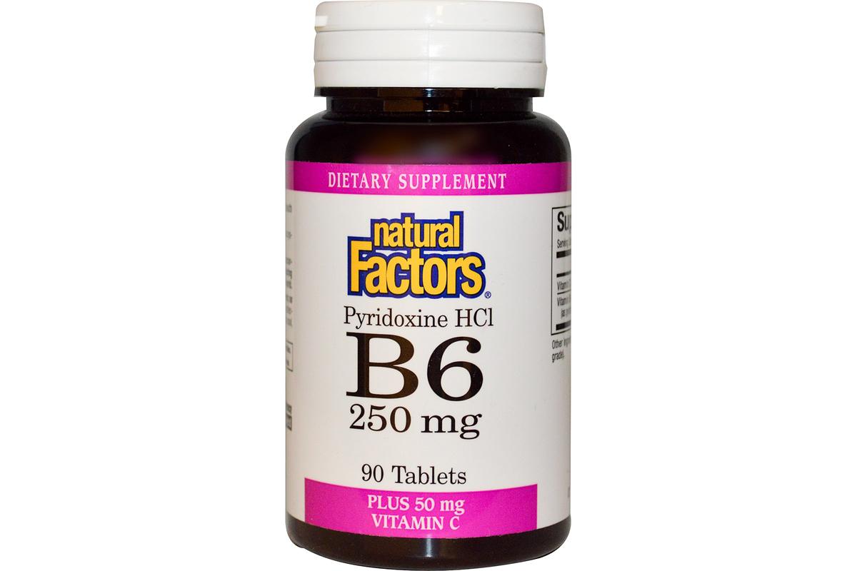 комплекс витамина В6 и С