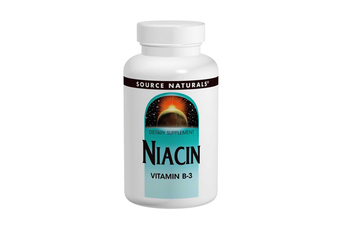 Source Naturals, Никотиновая кислота, 100 мг
