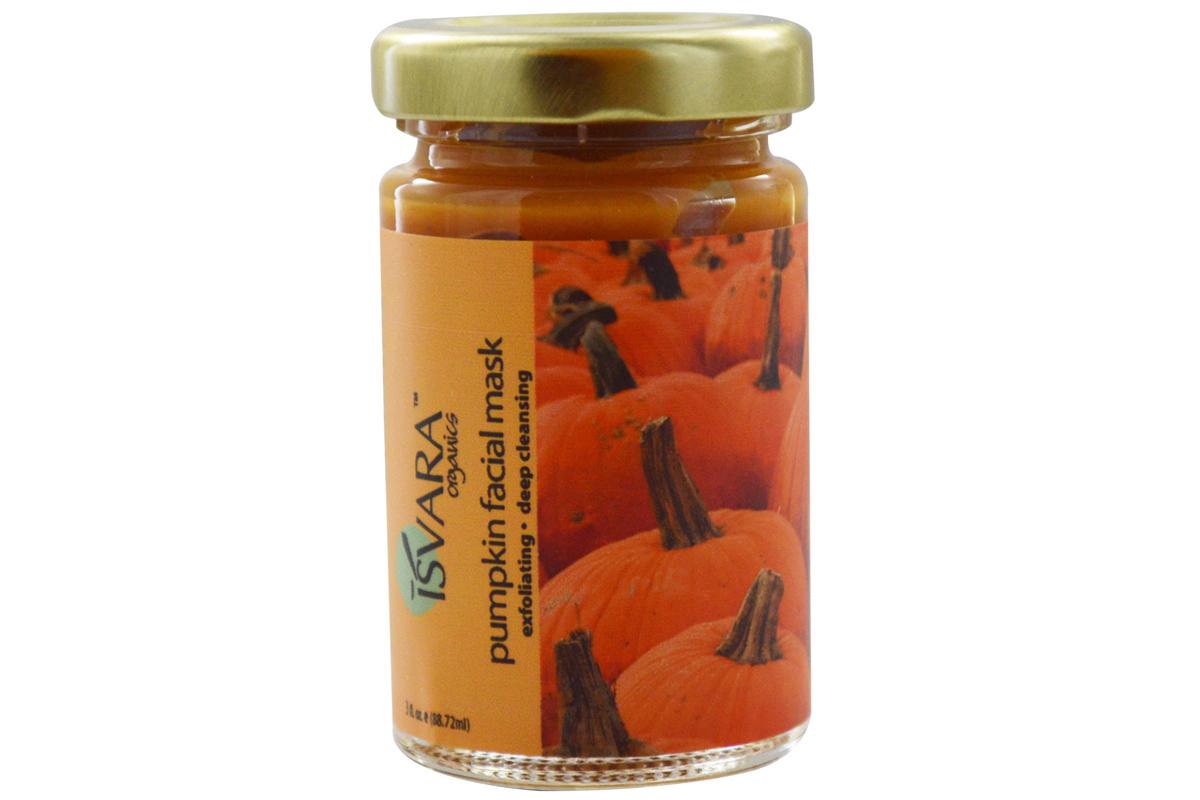 Органическая маска с тыквой Pumpkin Facial Mask от Isvara Organics, 3 fl oz (88.72 ml)