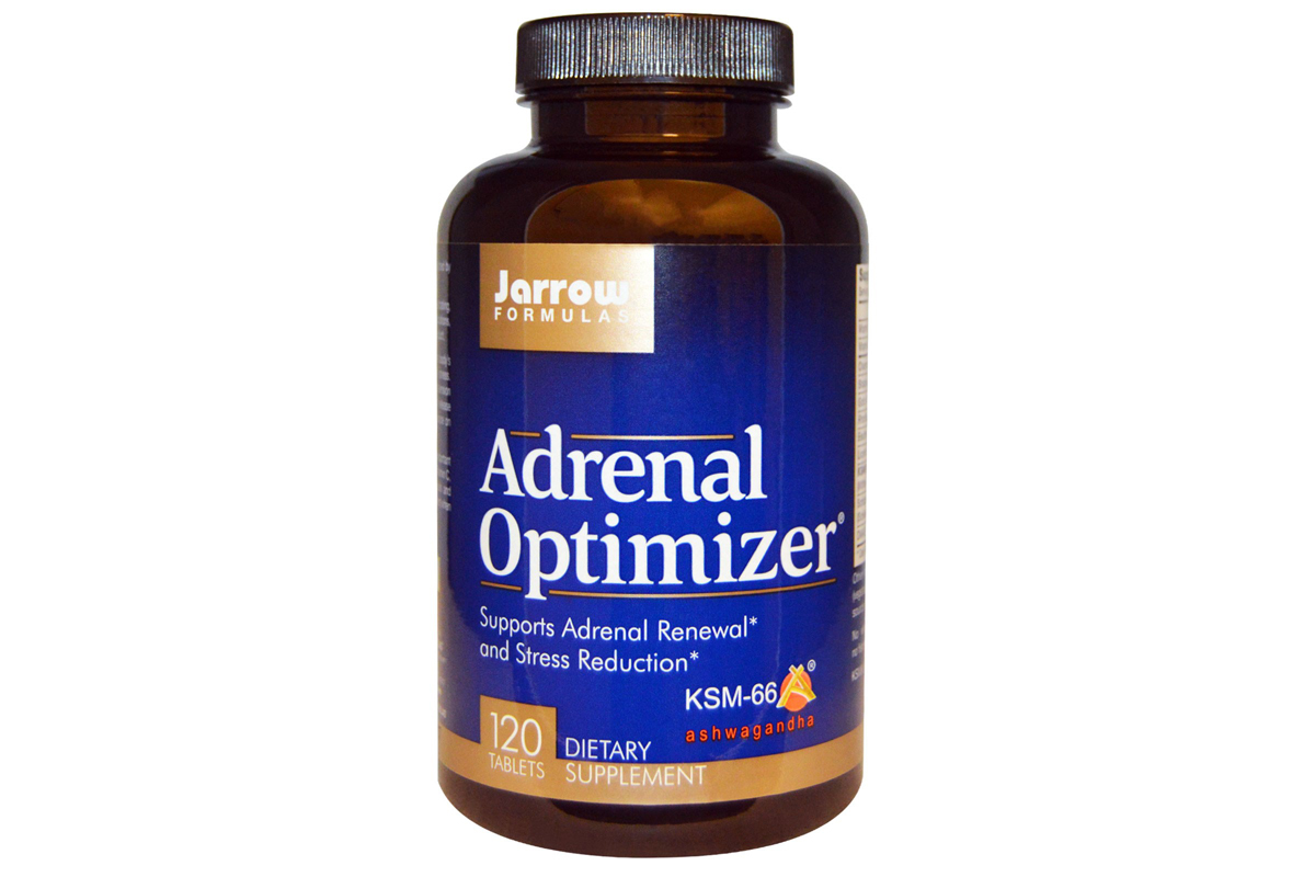 Комплекс Adrenal Optimizer в таблетках от Jarrow Formulas