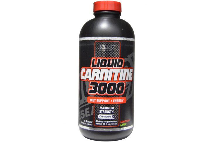 Liquid Carnitine 3000 со вкусом вишня-лай м от Nutrex Research Labs (473 мл)
