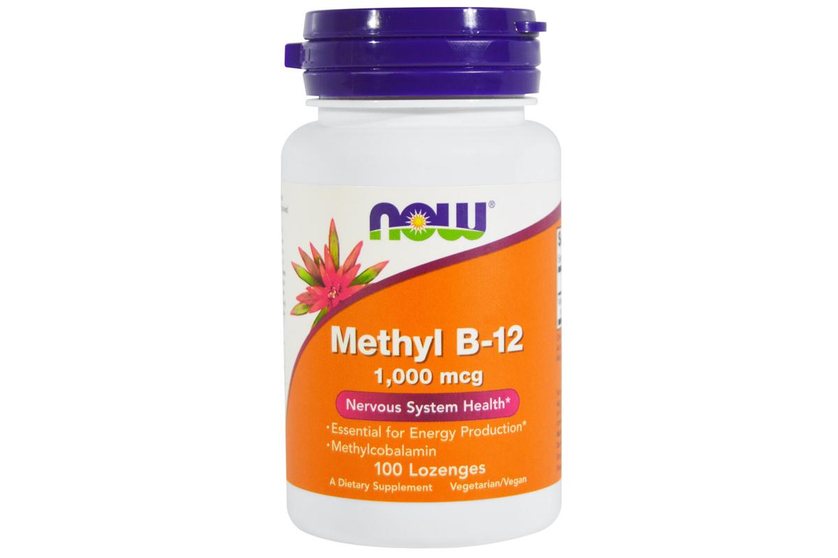 Метил B-12, 1000 мкг от Now Foods
