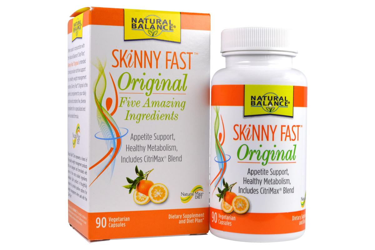 Комплекс Skinny Fast, Original, в вегетарианских капсулах от Natural Balance