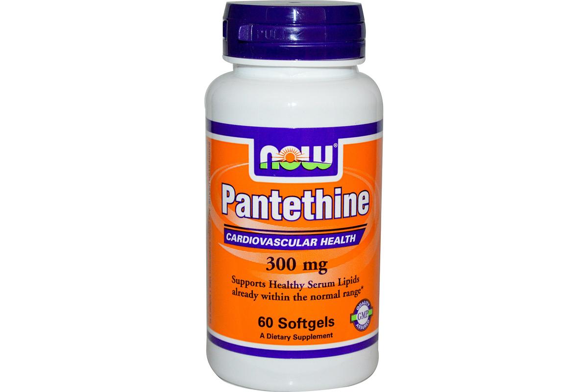 Пантетин, 300 мг в капсулах от Now Foods. В этот БАД