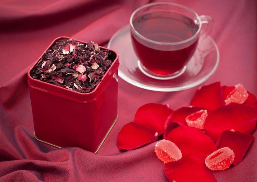 Свойства чая каркаде для похудения