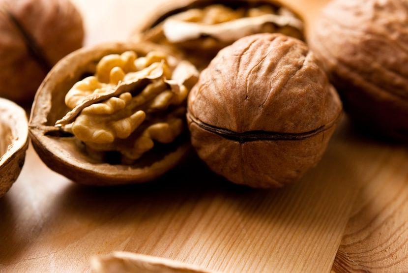 Состав грецких орехов