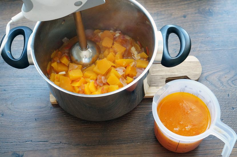 Низкокалорийный суп из тыквы: способы приготовления