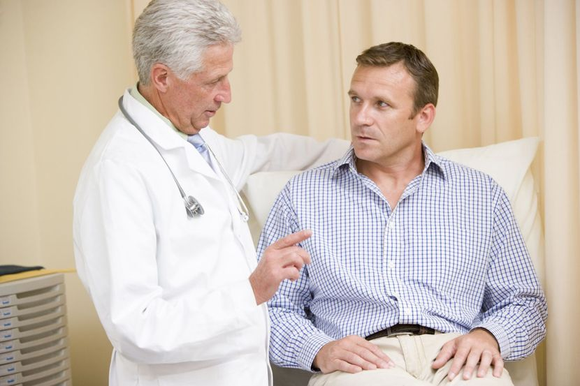 Ректальный массаж простаты при хроническом простатите