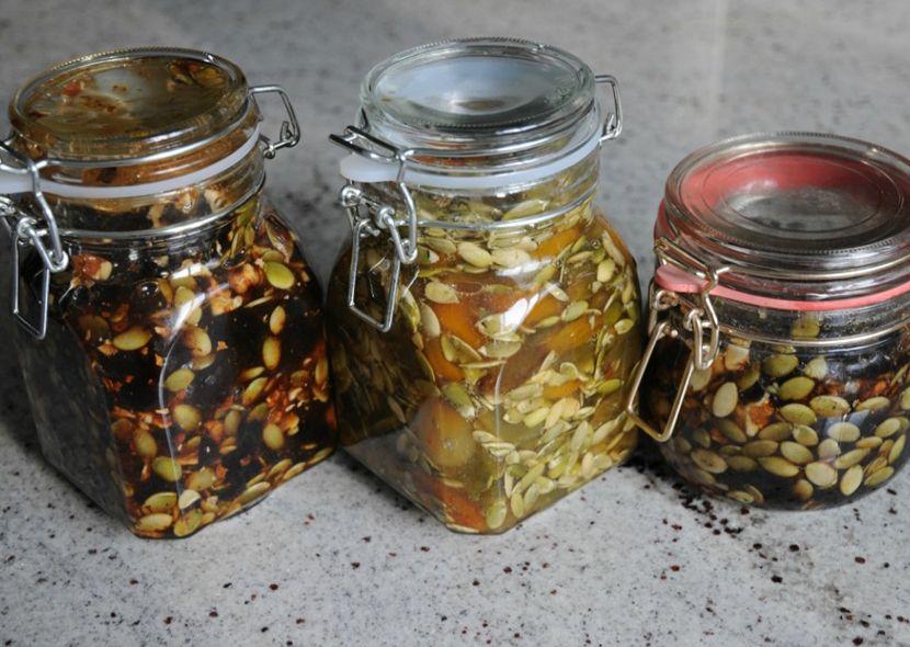 тыквенные семечки с медом от паразитов рецепт