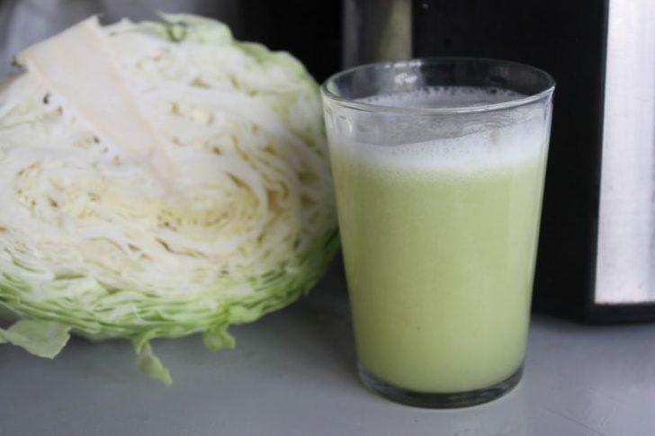 Немного полезности и вредности капустного сок