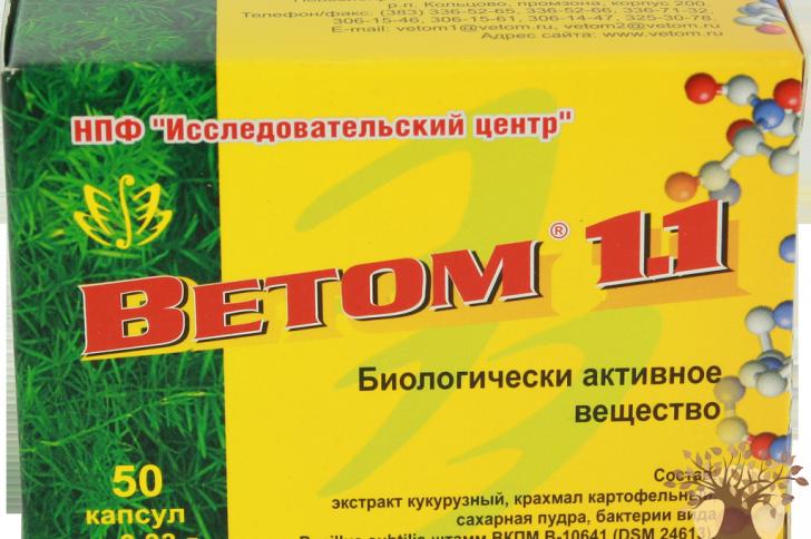 Ветом1.1целебные свойства натурального пробиотика