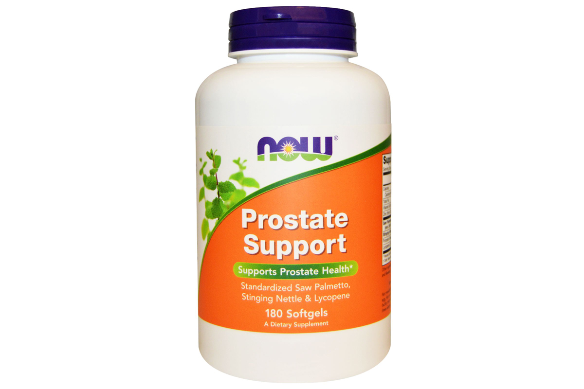 Prostate Support (поддержка предстательной железы) в желатиновых капсулах от Now Foods