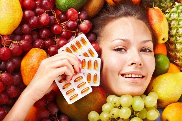 Лучшие витамины против старения