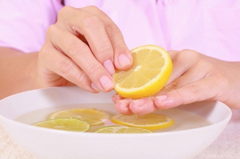 Лимонная ванночка