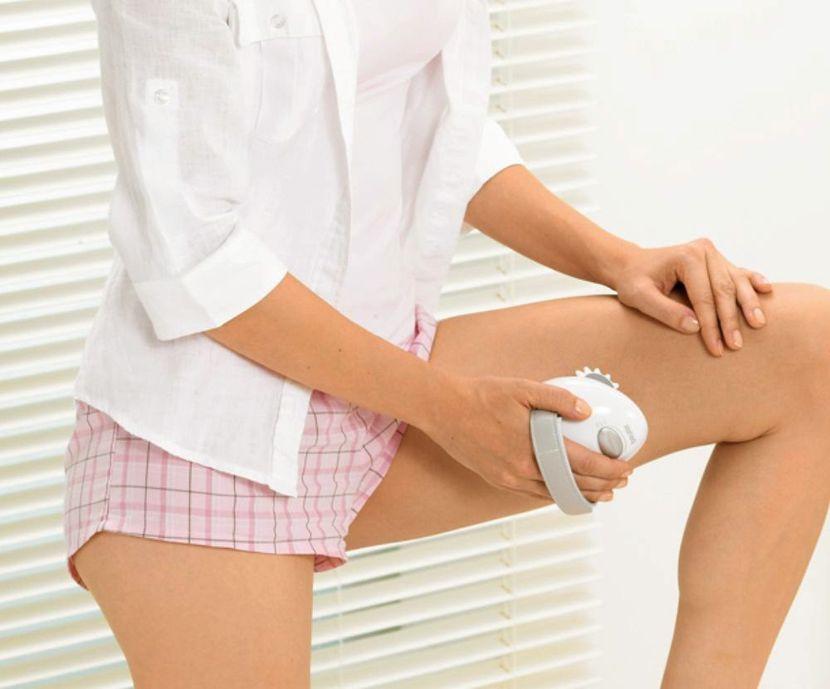Применение антицеллюлитного массажера в домашних условиях