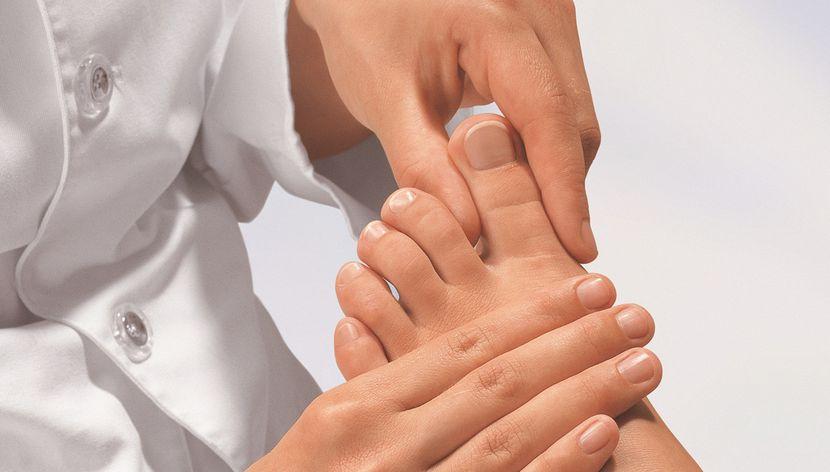 Нежизнеспособность ногтей на ногах