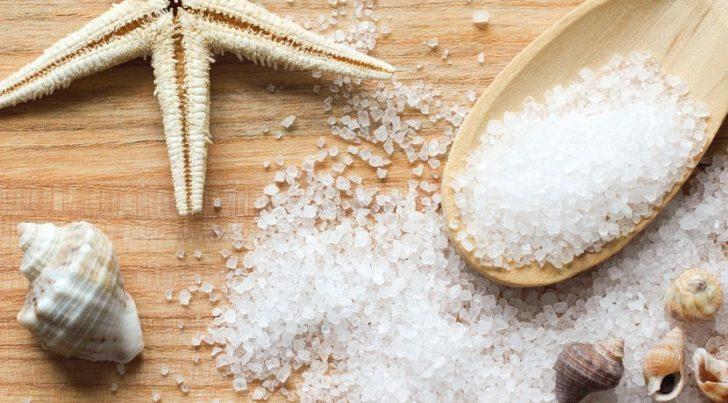 Ванночки с морской солью