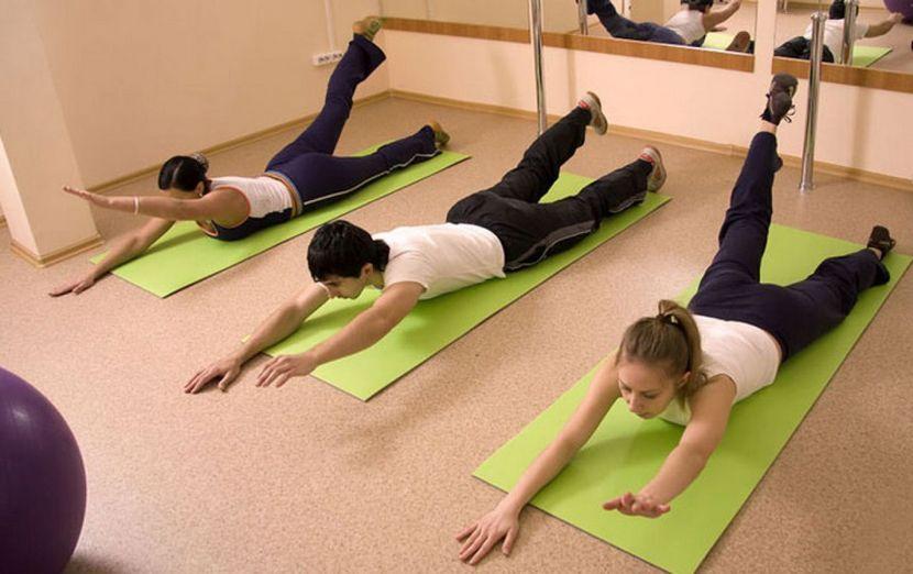Гимнастика по Бубновскому: упражнения на животе