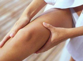 Массаж коленного сустава: техника выполнения