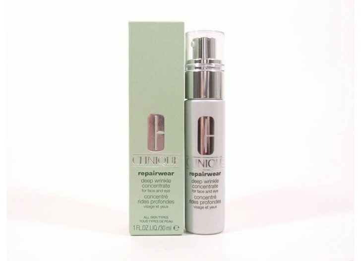 Clinique Repairwear Deer Wrinkle Concentrate For Face & Eye
