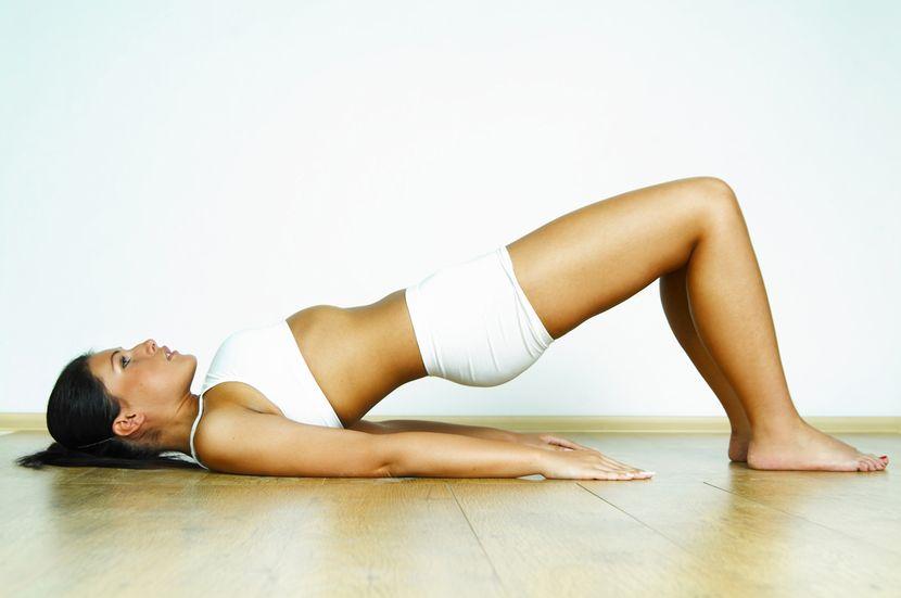 ЛФК для воспаленных коленных суставов: упражнения на полу