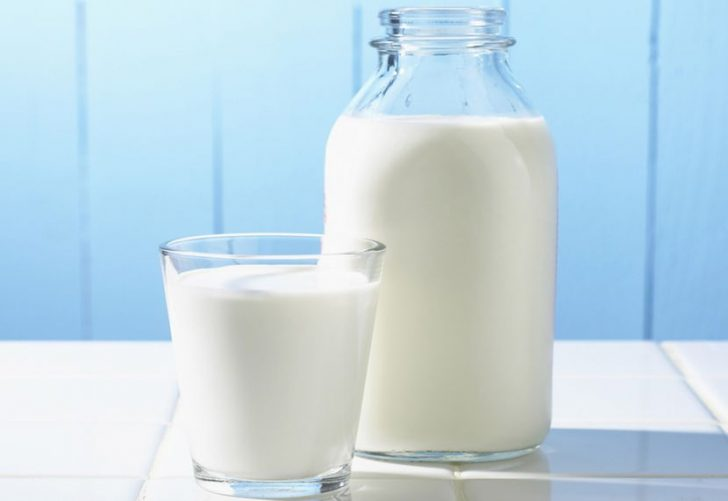 Молоко и давление: действи