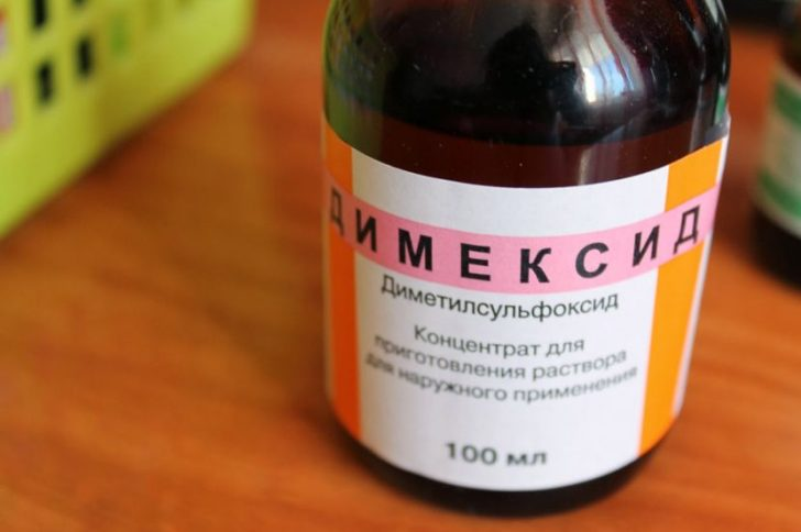 Димексид при пяточной шпоре, компресс с димексидом от шпоры на пятке
