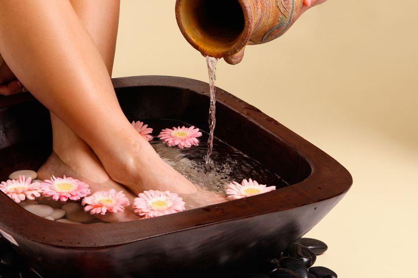 Пяточная шпора: ванночки и компрессы