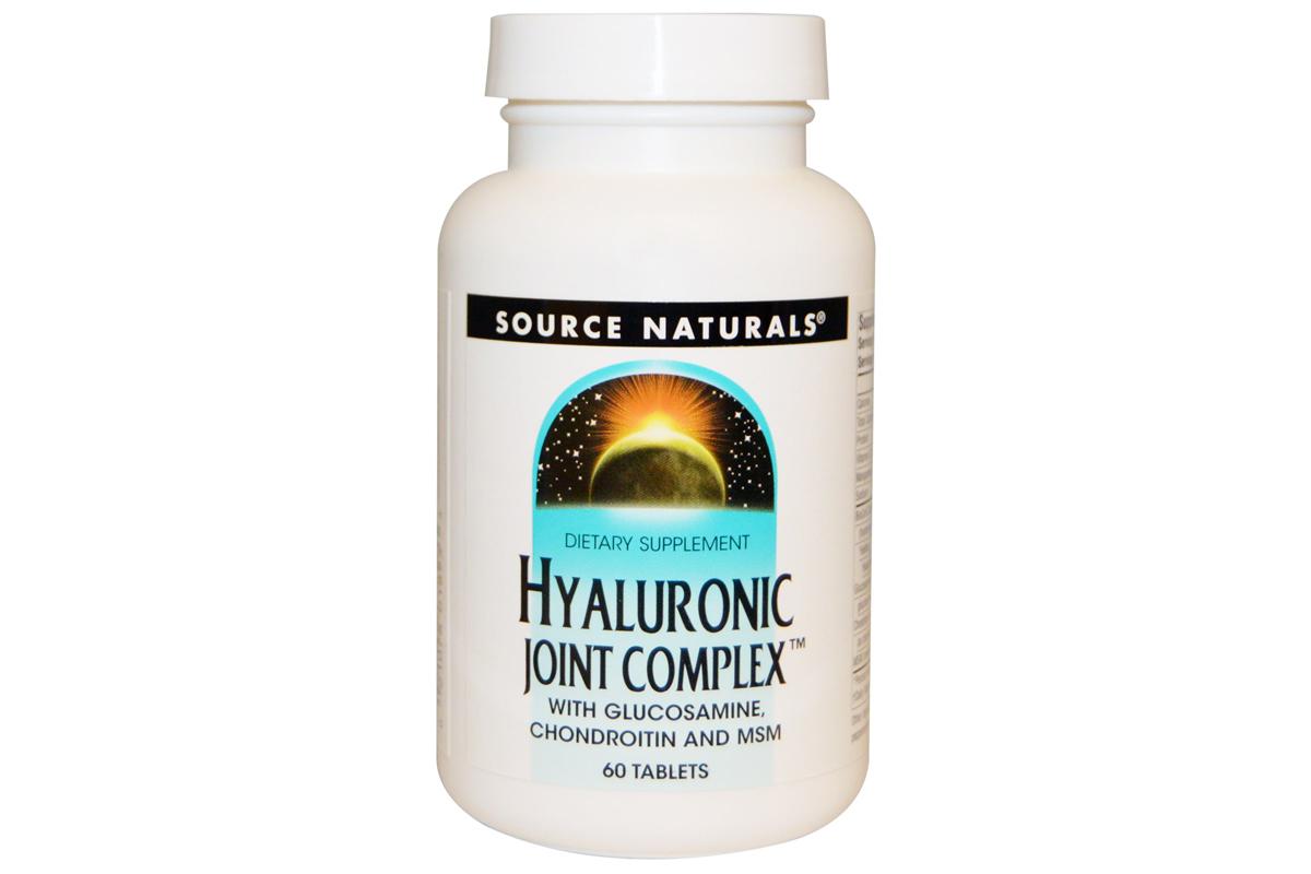 Гиалуроновый комплекс для суставов в таблетках от Source Naturals