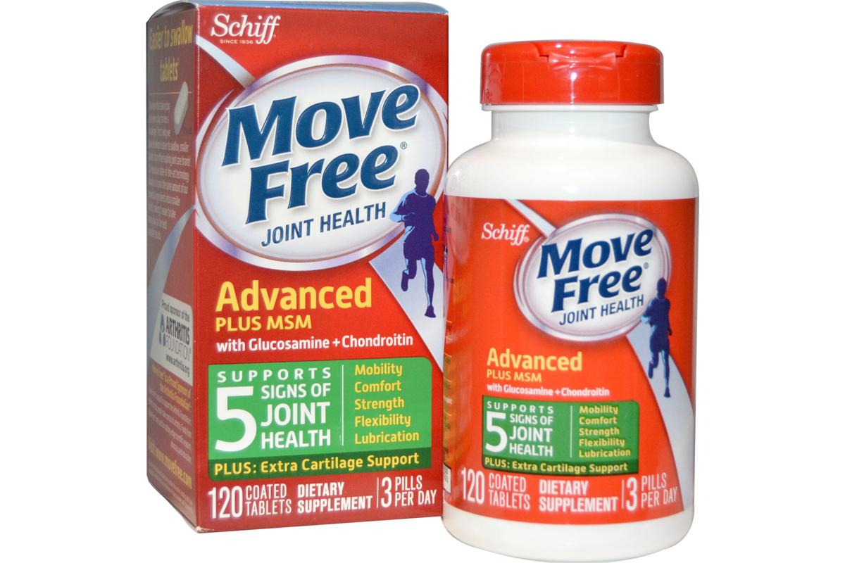 Комплекс здоровье суставов с глюкозамином и хондроитином плюс МСМ в таблетках от Schiff