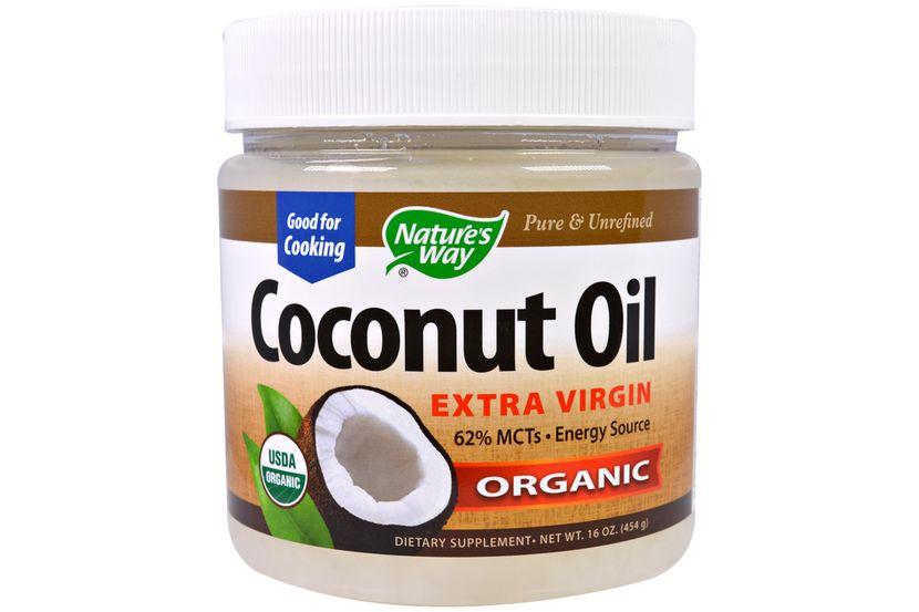 Nature's Way, Органическое кокосовое масло, 16 oz (454 г)