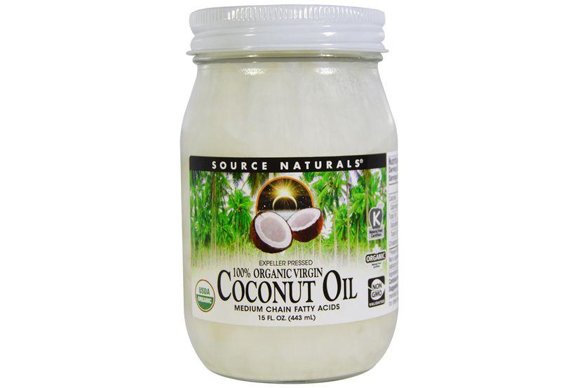 Source Naturals, 100% Organic Virgin, Coconut Oil, 15 fl oz. (443 ml)