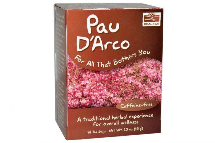 Now Foods, Настоящий чай из коры муравьиного дерева, без кофеина, 24 пакетика, 1.7 унций (48 г)