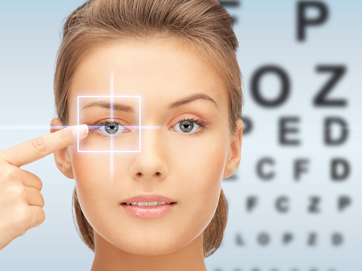 Упражнения для восстановления зрения с таблицей