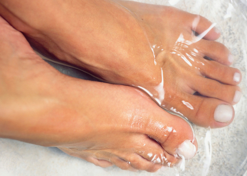 От грибка ногтей уксусные ванны