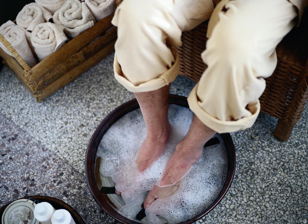Ванная с солью для похудения
