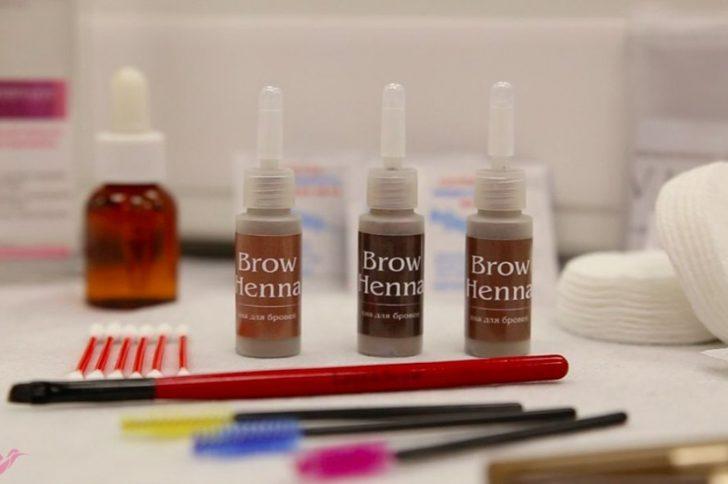 Как покрасить брови хной в домашних условиях