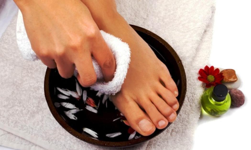 Целебные ванночки для ногтей при онихомикозе