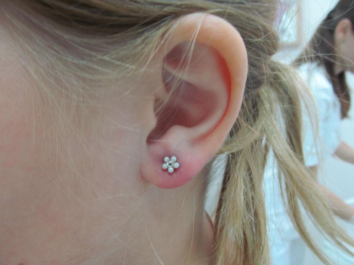 Чем обрабатывать уши после прокола?